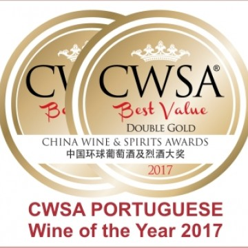 ESCADA Reserva Douro eleito PORTUGUESE Wine of the Year 2017 na China